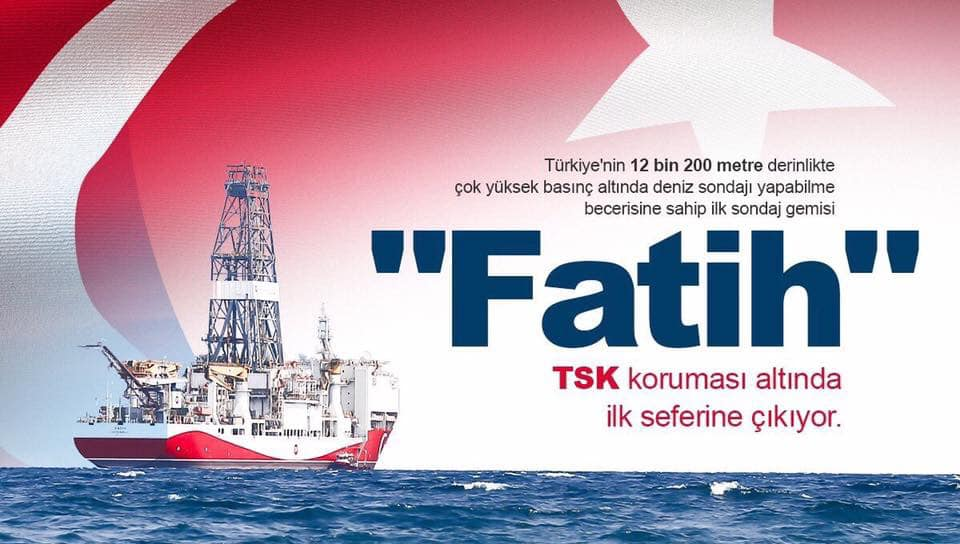 Fatih Akdeniz'de...