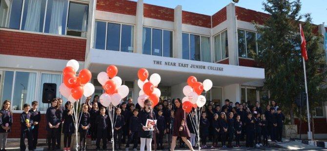 Yakın Doğu İlkokulu Öğrencileri 29 Ekim Cumhuriyet Bayramını Kutladı…