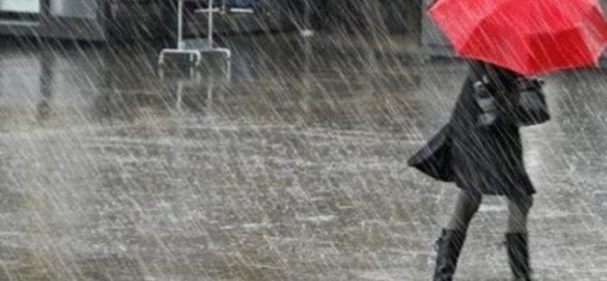 Pazar, Pazartesi ve Salı günü sağanak yağmur bekleniyor