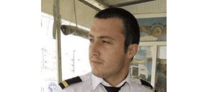 Kıbrıs asıllı genç pilotun cenazesi Antalya'da toprağa verildi