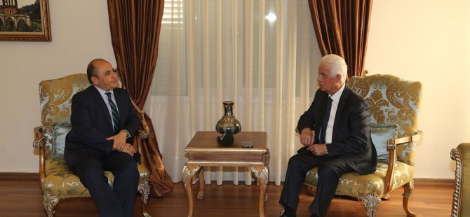 Eroğlu Büyükelçi Başçeri'yi kabul etti