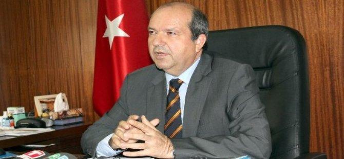 """Tatar: """"Türkiye ve KKTC, haklarının gasp edilmesine asla seyirci kalmayacak"""""""