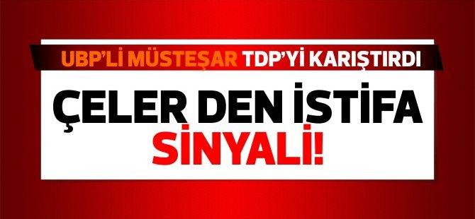 Zeki Çeler'in UBP'li Müsteşar ısrarı, TDP'yi karıştırdı!