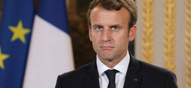 Macron'dan güney Kıbrıs'a doğal gaz desteği: Endişelerimi Erdoğan'a ilettim