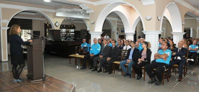 Sivil Savunma Teşkilatı Başkanlığı personeline organ bağışı bilgilendirme toplantısı düzenlendi
