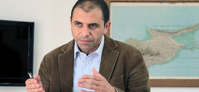 """Özersay: """"Kıbrıs'ta BM Barış Gücü'nün askeri misyonuna gerek kalmadı"""""""