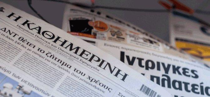 Anastasiadis'in basın toplantısı Rum Gazetelerinde geniş yer buldu