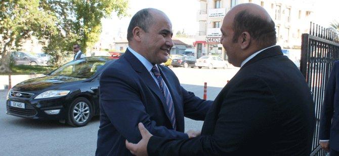 Bakan Atakan Büyükelçi Başçeri'yi kabul etti