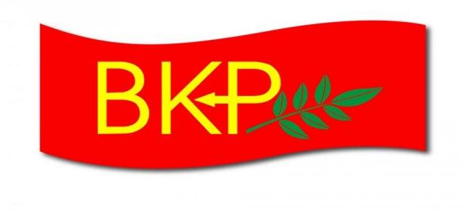 BKP, AP seçimlerinde AKEL'i destekleme kararı aldı