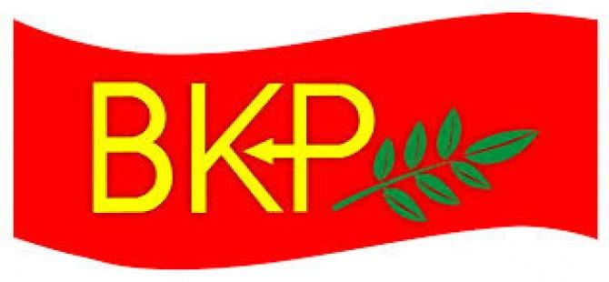 BKP, Bılbao European forum toplantısına katılacak