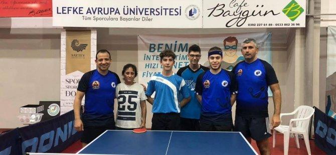 LAÜ Masa Tenisi Takımı Türkiye Liginde İddialı