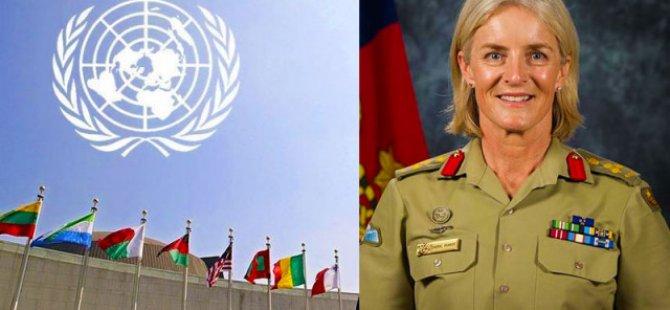 Kıbrıs'taki Barış Gücünün yeni komutanı Cheryl Pearce…
