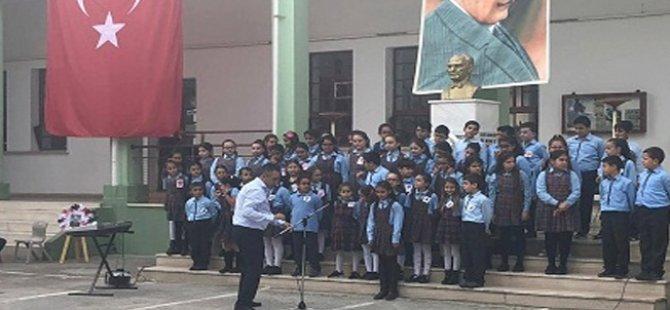 Atatürk, Lefke bölgesindeki okullarda düzenlenen etkinliklerle anıldı
