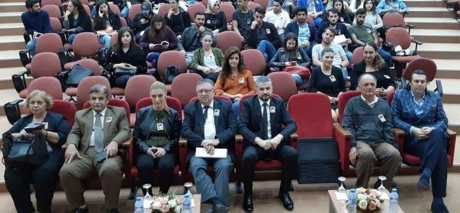 Yakın Doğu Üniversitesi Fen-Edebiyat Fakültesi Büyük Önder Mustafa Kemal Atatürk'ü Anma Töreni Düzenledi…