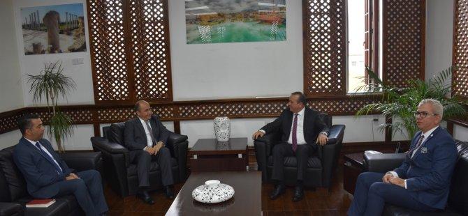 Başçeri Ataoğlu'na nezaket ziyaretinde bulundu