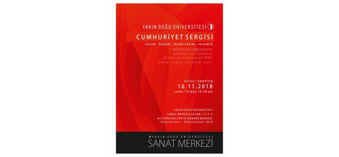 YDÜ'de Cumhuriyet Sergisi