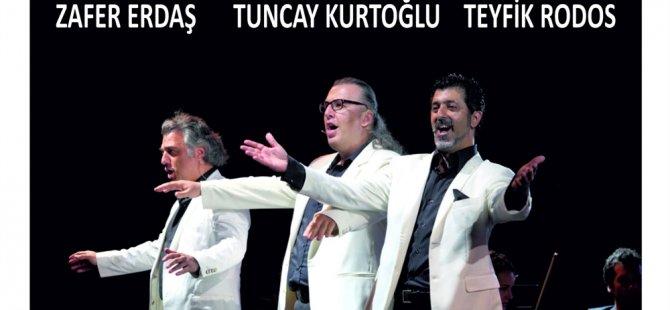 Uluslararası Kuzey Kıbrıs Müzik Festivali yarın 3 Basses konseri ile final yapıyor