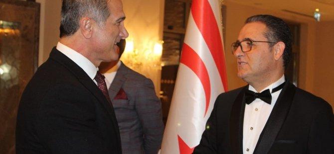 KKTC'nin 35. kuruluş yıl dönümü nedeniyle İstanbul'da resepsiyon düzenlendi