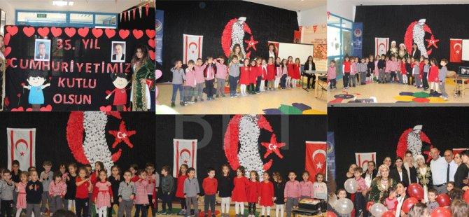 TED Kuzey Kıbrıs Koleji'nden Cumhuriyet Kutlaması