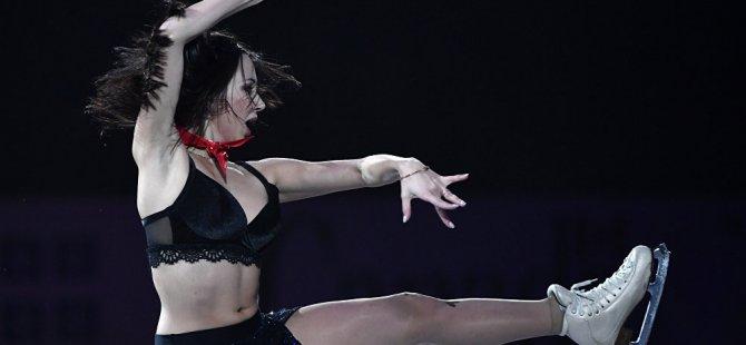 Rus artistik patinajcı Tuktamişeva: Buz dansından daha iyi olan tek şey seks
