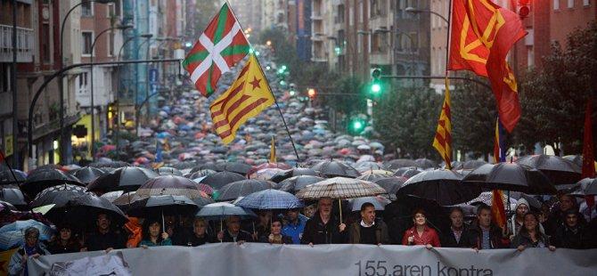 Bask bölgesinde bağımsızlık oylaması halktan destek bulmadı: Katılım yüzde 12.46
