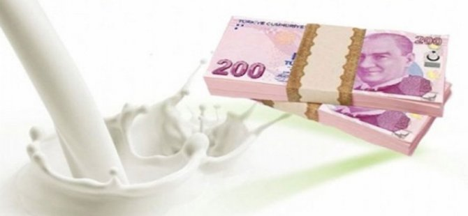 Süt bedelleri ödendi