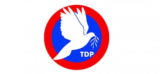 TDP'nin 6'ncı olağan kurultayı 25 Kasım'da...