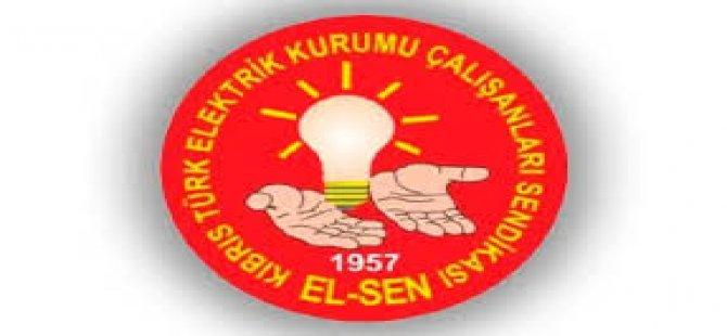 """El-Sen: """"Arızalar nedeniyle Güney Kıbrıs'tan alınan enerjinin Kıb-Tek'e ve topluma ödettirilmesi kabul edilemez"""""""