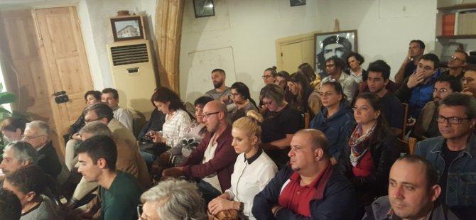 Bölünmüş başkentin havaalanı belgesel gösterimi dün akşam Basın Emekçileri Sendikası lokali'nde gerçekleştirildi