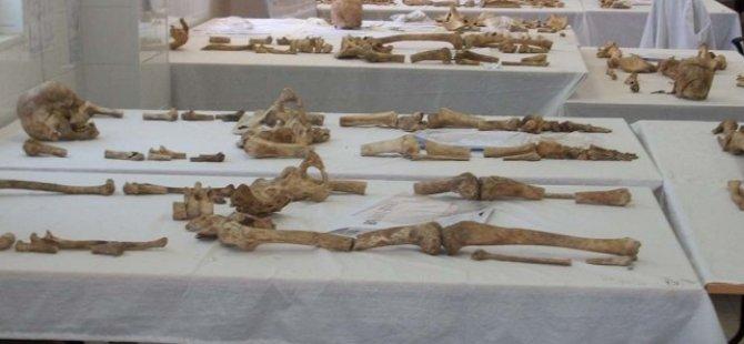 İnönü'deki kayıp kazılarında bulunan kemikler Kıbrıslı Rum'a ait