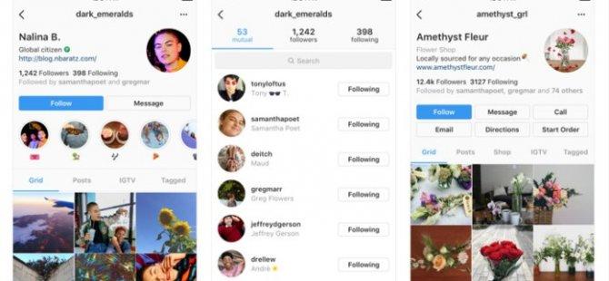 Instagram Kullanıcı Profiline Önemli Değişiklikler Geliyor