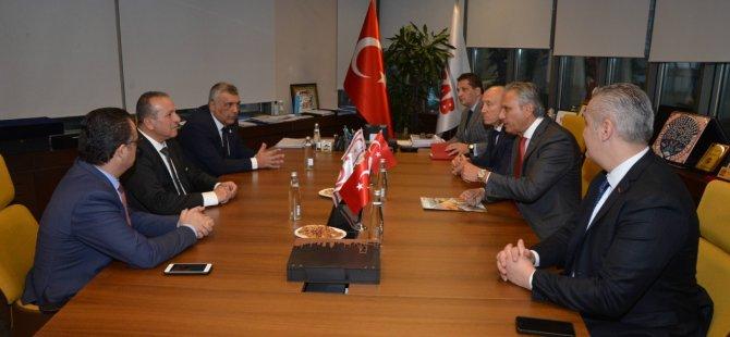 Ataoğlu Tursab'ı ziyaret etti
