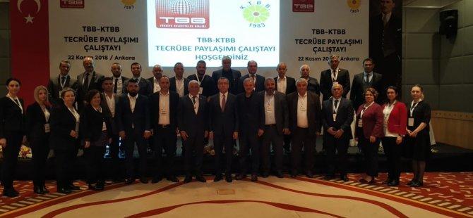 Türkiye-KKTC yerel yönetimleri tecrübe paylaşımı çalıştayı Ankara'da yapıldı
