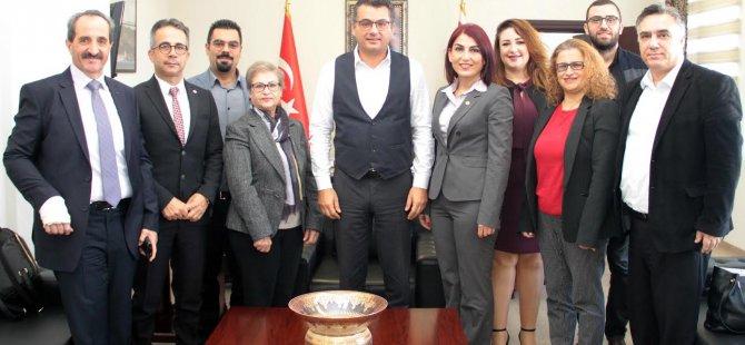 Kıbrıs Türk Tabipleri Birliği Yönetim Kurulu Başbakan Tufan Erhürman'a ziyaret gerçekleştirdi