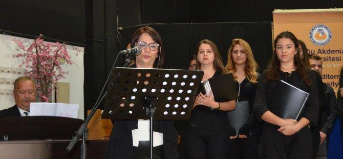 DAÜ'de 24 Kasim Öğretmenler Günü nedeniyle Oratoryo gerçekleştirildi