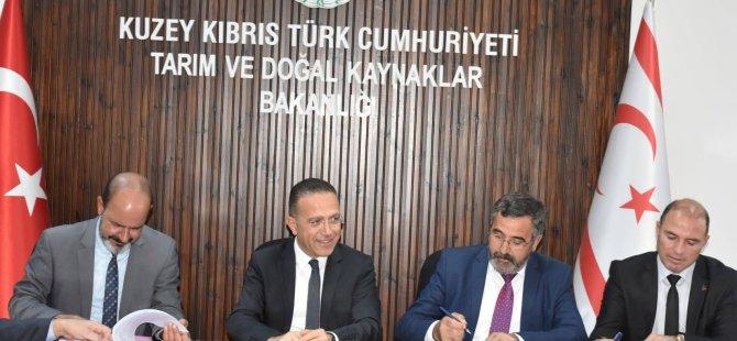 Tarım ve Doğal Kaynaklar Bakanlığı ile üç belediye arasında protokol imzalandı
