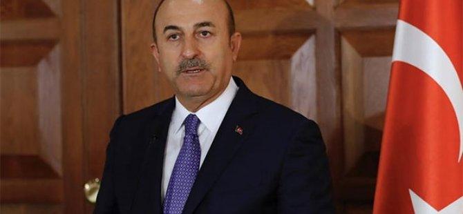 Bakan Çavuşoğlu: Kıbrıs Türk halkının haklarını koruma talebimiz meşru