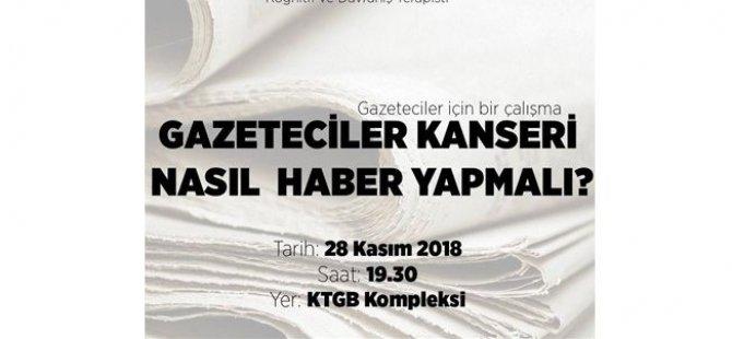 Basın-Sen, kanserle savaş vakfı işbirliğinde gazeteciler için seminer düzenliyor