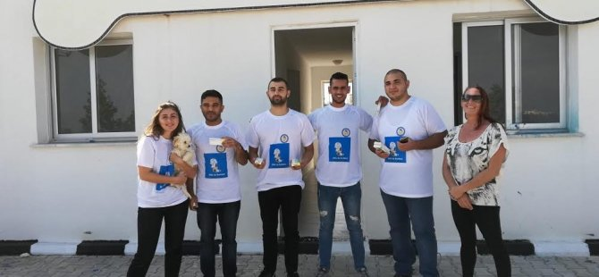 DAÜ öğrencilerinden Köpek Barınağı ve Rehabilitasyon Merkezi'ne ziyaret