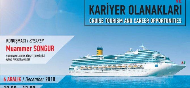 LAÜ'de Turizm Profesyonelleri  iki ayrı seminerde turizmde yeni trendleri ele alacaklar