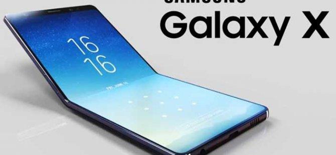 Samsung'un Katlanabilir Telefonu  Hayal Kırıklığı Yaratan Bir Patent Ortaya Çıktı