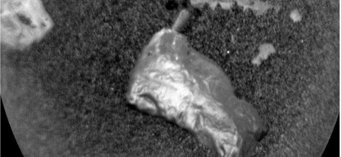 Mars'ta sıradışı keşif