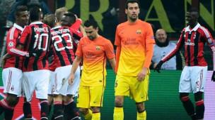 Milan'dan Barcelona'ya taktik dersi