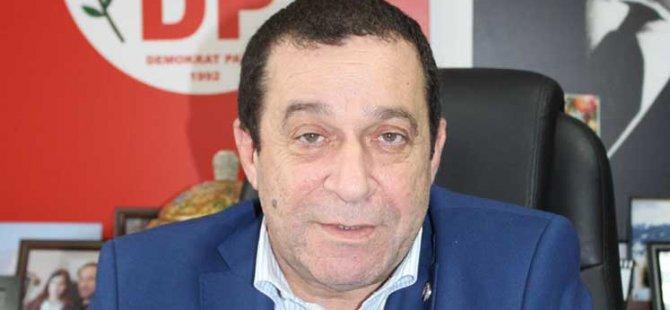 """Denktaş; """"2019 kurultayında DP Başkanlığı'na yeniden adayım"""""""