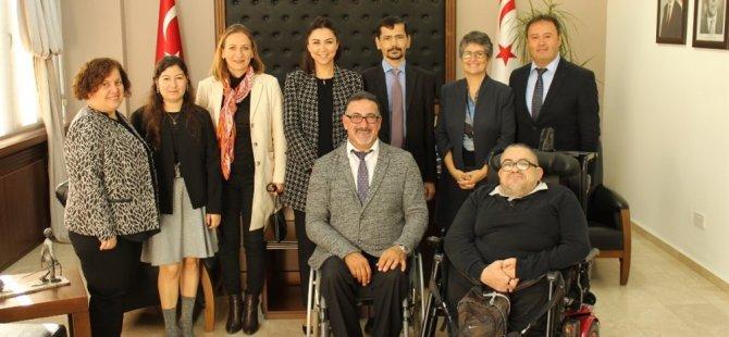 Baybars, Engelli Hizmetleri Koordinasyon Kurulu heyetini kabul etti