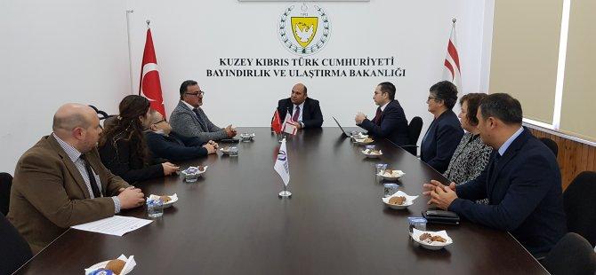 Atakan, Engelli Hizmetleri Koordinasyon kurulu heyetini kabul etti