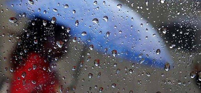Meteoroloji Dairesi yarın ve Çarşamba günü için sağanak yağış uyarısında bulundu