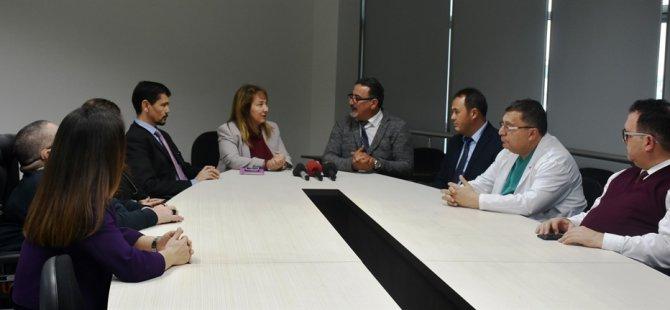 Engelli Hizmetleri Koordinasyon Kurulu'ndan Besim'e ziyaret
