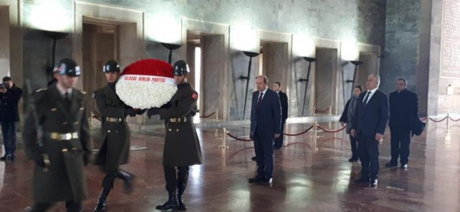 Tatar, Anıtkabir'i ziyaret etti
