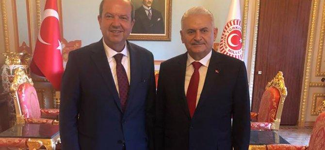 Tatar, Ankara'da Yıldırım ve Çavuşoğlu ile görüştü